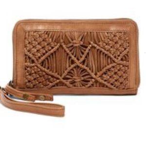 Day & Mood Violet Macrame Wallet Wristlet